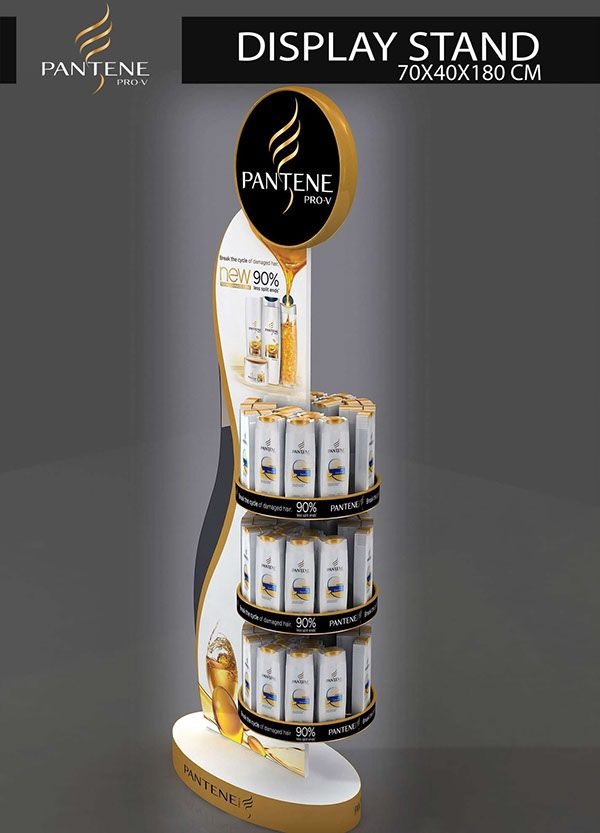 PANTENE DISPLAY STAND on Behance
