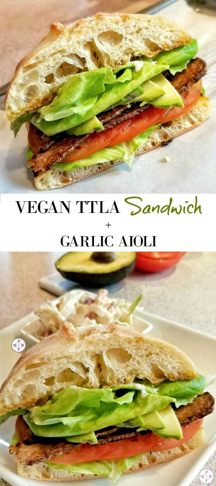I saw the #TTLAChallenge trending, I had to check it out. A TTLA (Tempeh, Tomato, Lettuce, and Avocado) Vegan (Sandwich) is basically a vegan version of the BLT. This is for my plant-based, vegetarian, and vegan lovers (really anyone). And it's also Weight Watchers friendly (with a few changes). Check out how to make your own + a delicious Vegan Garlic Aioli to go with it! - My Pretty Brown Fit