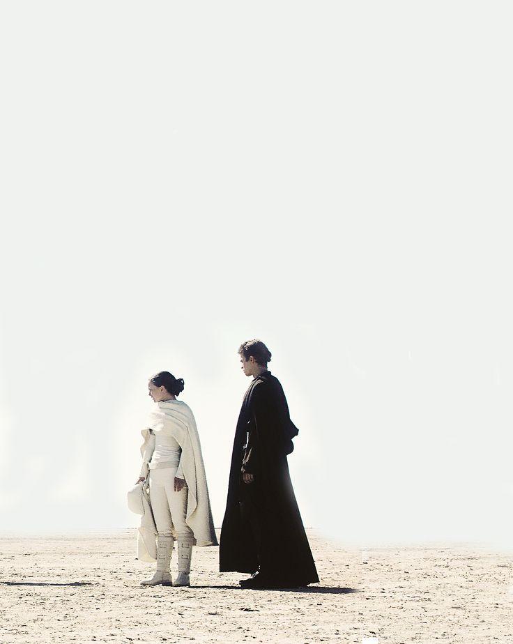 Episode II - Padme & Anakin in Tatooine