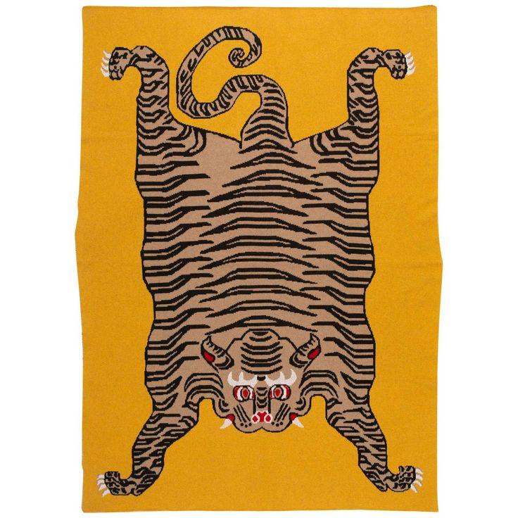 Tiger Blanket by Saved, New York
