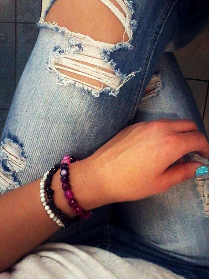in real love with bracelets