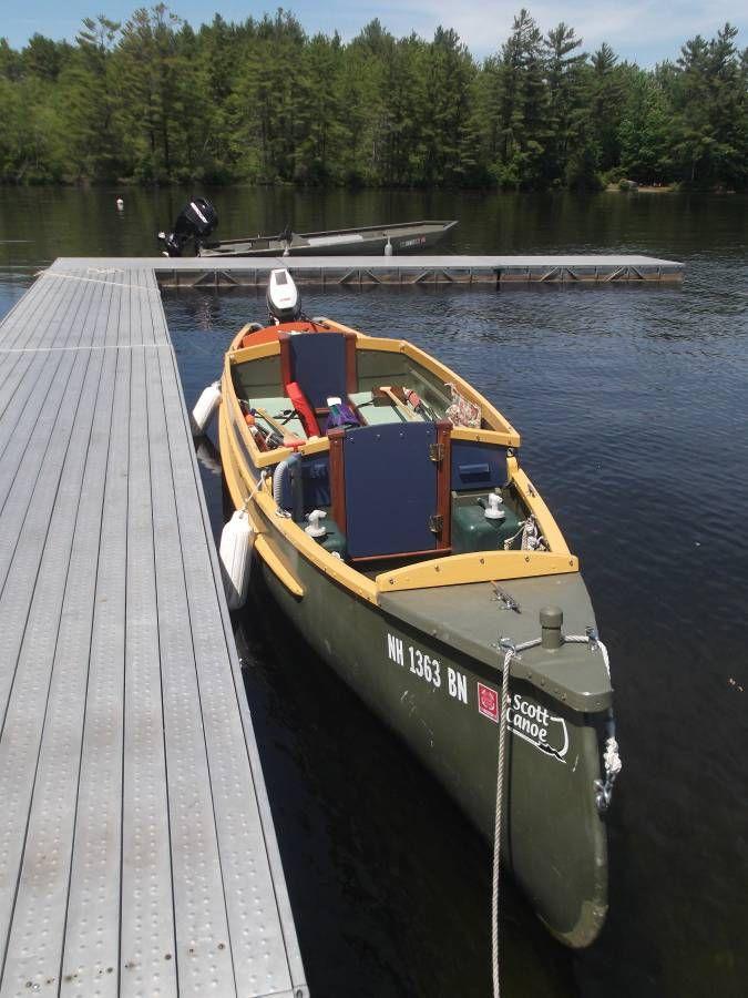 Custom 2006 Scott Hudson Bay 21ft Freighter Canoe River