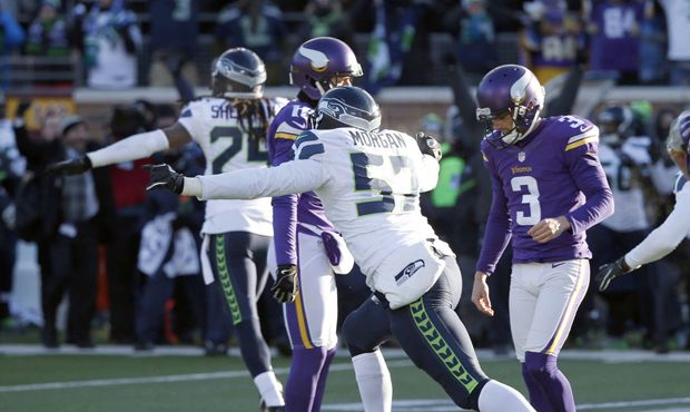 After the Seahawks escaped with a 10-9 win in Sunday's wild-card game when Minnesota missed a chip-shot field goal, no one was more heart-broken than Vikings kicker Blair Walsh.