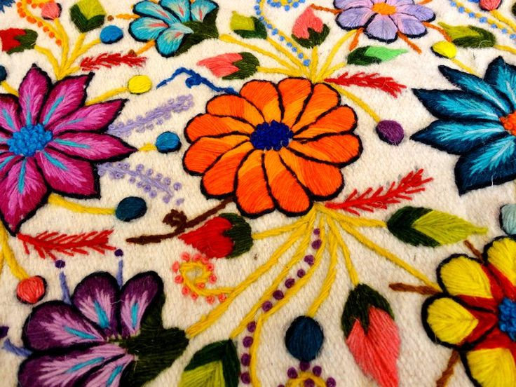 south american embroidery - Buscar con Google