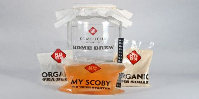 Kombucha Basic Home Brew Kit from Kombucha Brooklyn #madeinusa