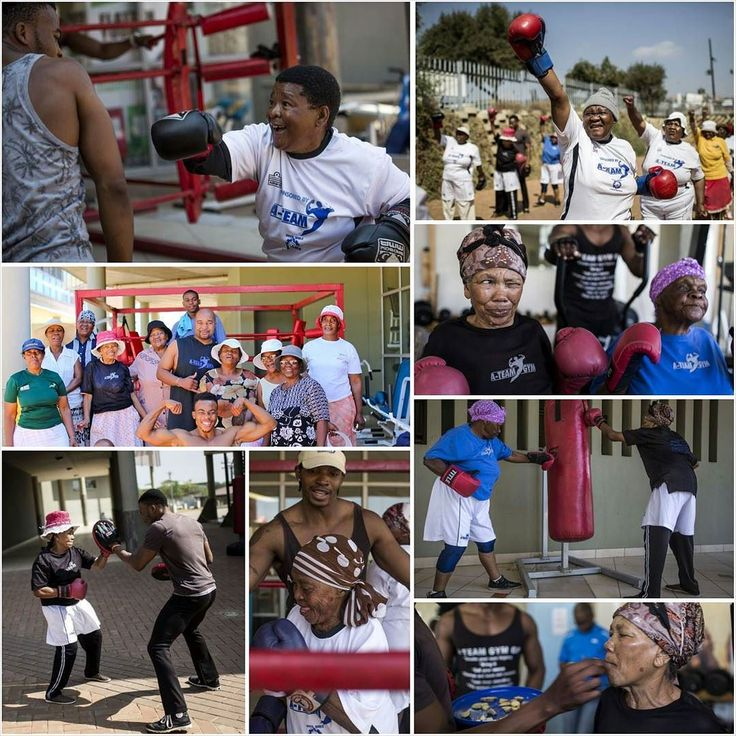 #InTheNews #Johannesburg  Sixty is the new sexy. Eighty is the new charming. And ninety is the new strong. That isn't typo but a true story from a sports club in Cosmo City South Africa.  A former bodybuilder Claude Maphosa who is also the owner of the sports club A-Team Gym is running a free or cost special boxing class for grannies and nannies. Named as Boxing Gogos Program (Gogos being African term for grandmas) it aims to help old women overcome stress become active and improve their…