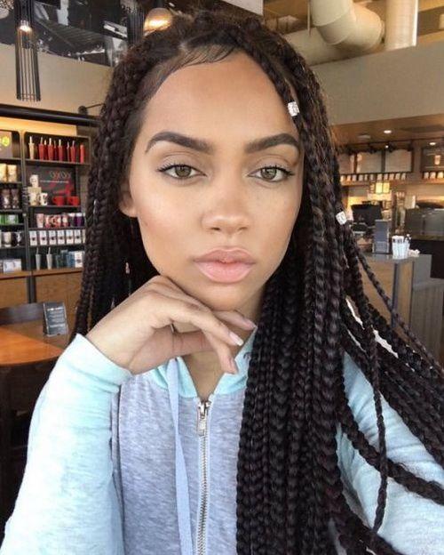 Brazilian Hairstyles 2017 Long Black Braids