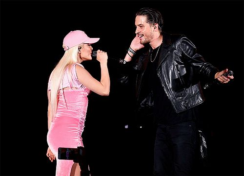 G-Eazy and Bebe Rexha perform onstage during CBS RADIO's fourth annual We Can Survive concert at the Hollywood Bowl on October 22, 2016 in Hollywood, California