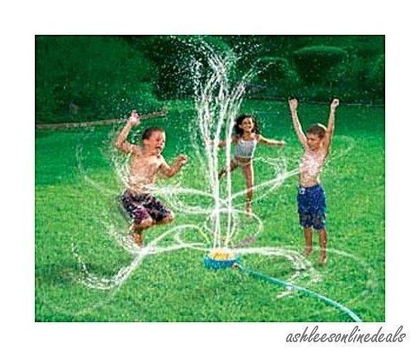 New Sprinkler Spinning Kids Water Outdoor Toys Sprayer