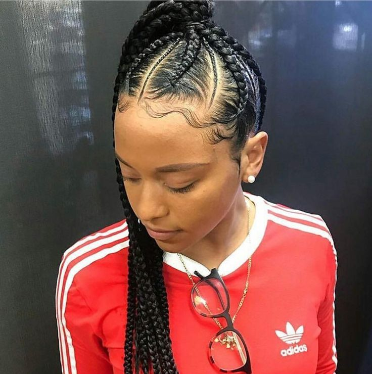 Instagram Ti Nyyyy Cornrows With Box Braids Curly Weave Hairstyles Hair Styles