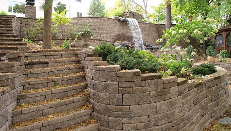 27 best images about sloping yard solutions on pinterest for Sloped yard solutions