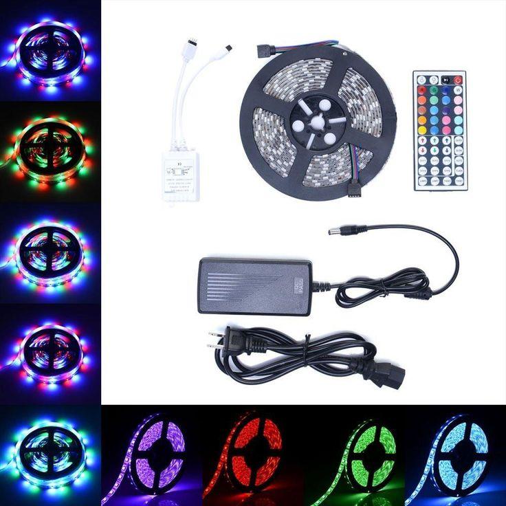 8 best led light strip ideas images on pinterest led strip led 300 led rgb strip light 3528 5050 smd flexible remote power us mozeypictures Choice Image