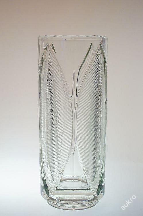Rudolf Jurnikl - Sklo Union Libochovice - Lotos vase - 70s - 22,5 cm