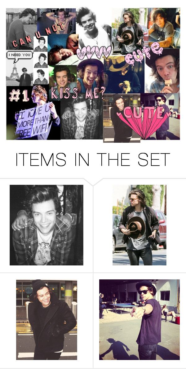 """""""Hary Styles"""" by kennedey-lynn-freeman ❤ liked on Polyvore featuring art"""