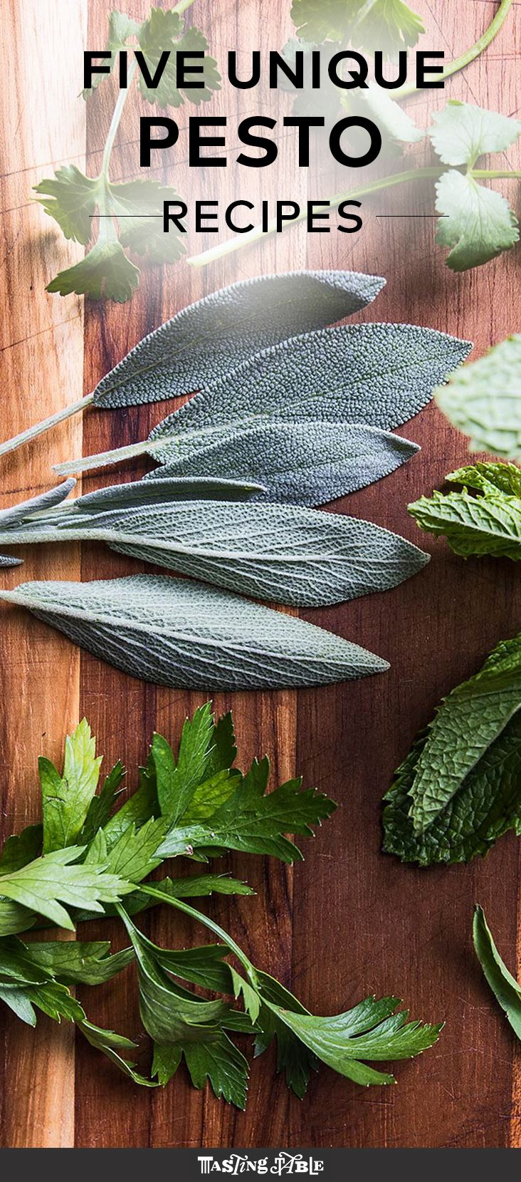 Go beyond basil and use parsley, mint, tarragon and more to make these five…