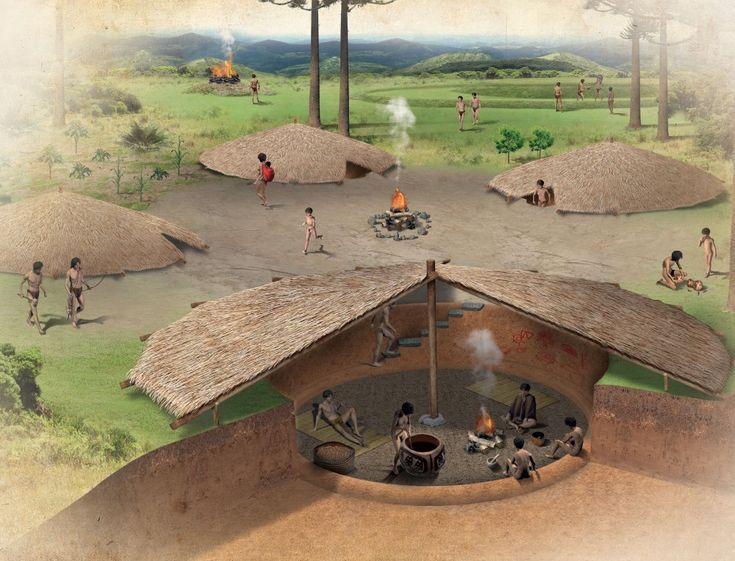 Casas subterrâneas do povo Kaingang