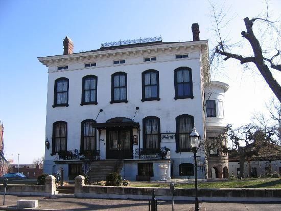 The Lemp Mansion.  One of St. Louis' ugliest mansions.  Also one of the  nation's most haunted buildings.  A very sad history and a wonderful Sunday family style dinner.