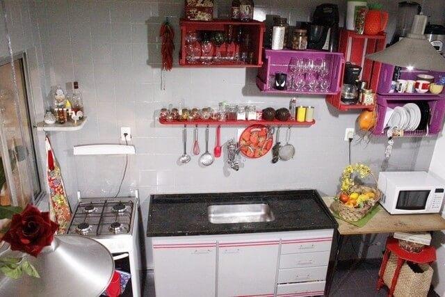 Cozinha de pobre