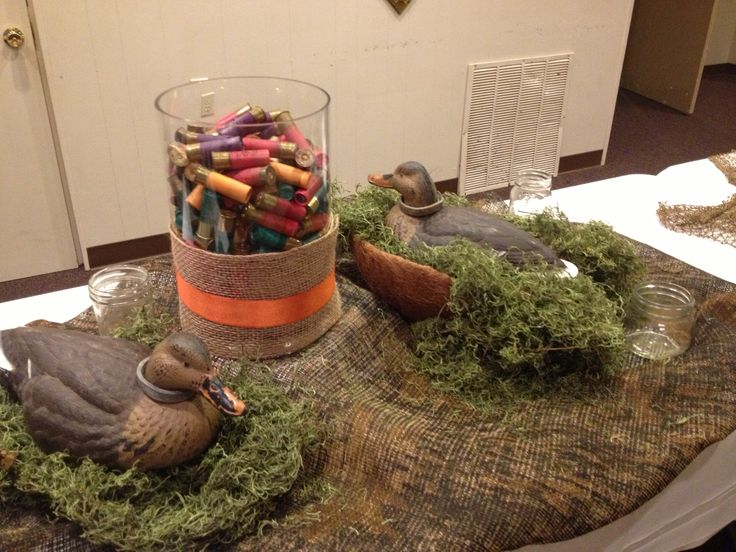 Decorations On Our Buffet Table