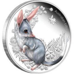 Australian Bush Babies 1/2oz Silver Proof Bilby Coin