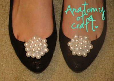 DIY Pearl Shoe clips