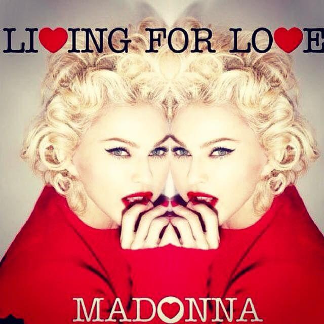 """Shabbat Shalom from this ❤️#rebelheart"" -Madonna"