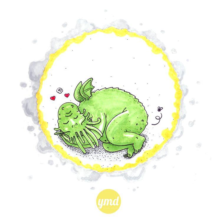 Ylenia Marino - Cthulhu illustration - #vaffancthulhu #MassoneriaCreativa - www.massoneriacreativa.com