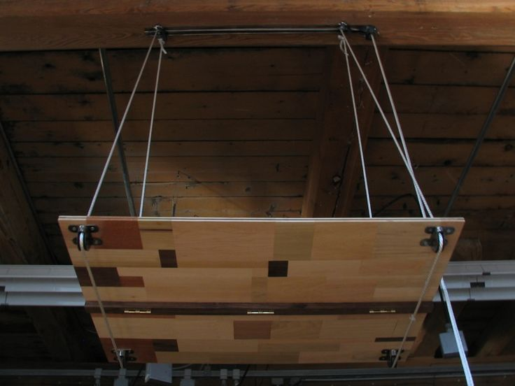 Hanging Shelf On Pulley