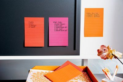 Post-it® Super Sticky Notes 4 in x 6 in are great for to-do lists. With Super Sticky adhesive, your note will get noticed in places like file cabinets, doors and walls. Notes stick securely and remove cleanly. The Bangkok Color Collection mixes up a number of Asian influences to create a spicy assortment of colors. Lined. 3 Pads/Pack, 90 Sheets/Pad.