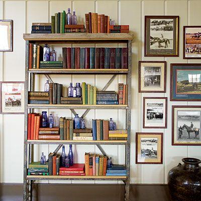 85 Best Art With Bookshelves Images On Pinterest
