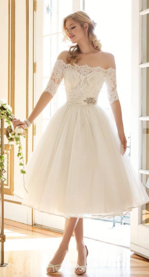 Wedding dress idea; via Justin Alexander