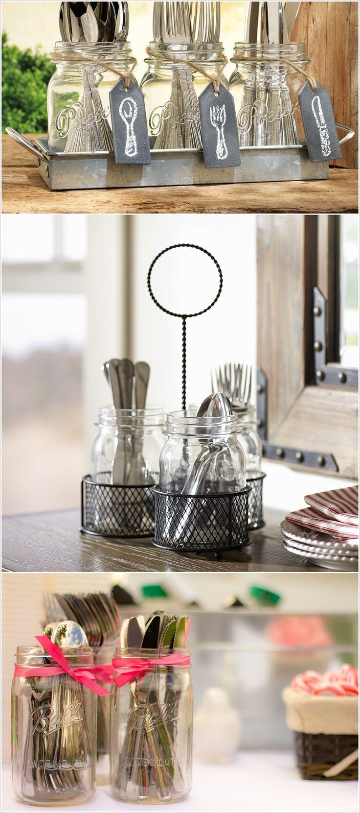 10 Cutlery Storage Ideas For Your Kitchen