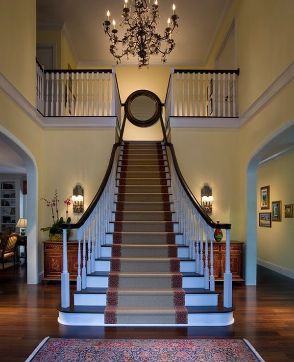 16 Elegant Traditional Staircase Designs That Will Amaze You: 51 Best Grand Staircases Images On Pinterest