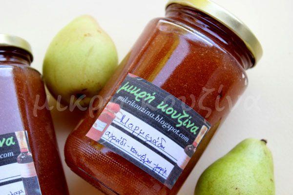 μικρή κουζίνα: Μαρμελάδα αχλάδι