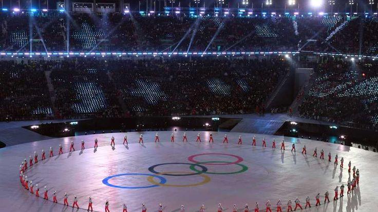 Olimpíadas começam entre frio extremo e esperança de paz