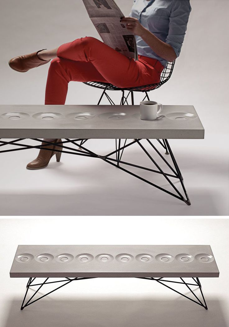 10 Examples Of Concrete and Steel Tables To Add To Your Industrial Interior…