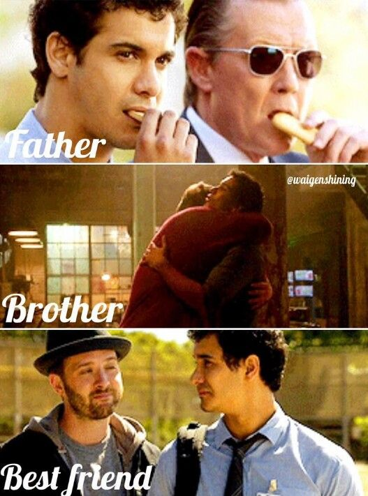 Walter's Scorpion family :) | Cabe=Father | Sly=Brother | Toby=Best Friend |