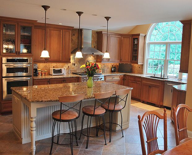 Islands In Kitchens best 25+ big kitchen ideas on pinterest | dream kitchens