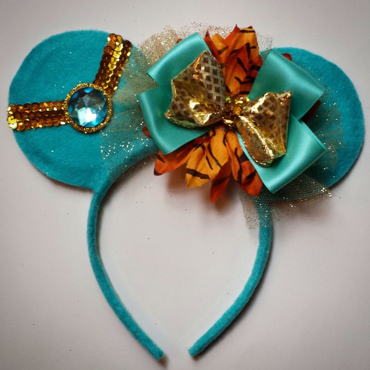 Princess Collection Minnie Mouse Ears by MakeMeMinnie on Etsy https://www.etsy.com/listing/197276197/princess-collection-minnie-mouse-ears