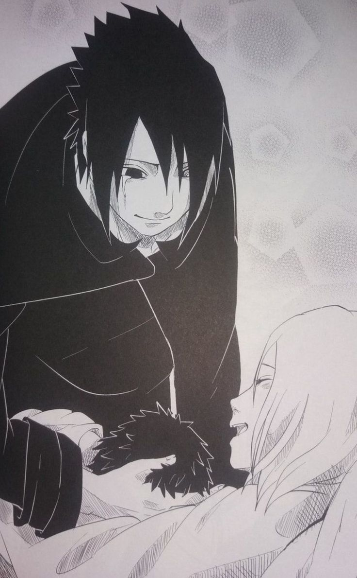 Sasuke Sakura and Sarada
