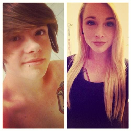 1000+ images about before and after on Pinterest | Transgender, Male ...
