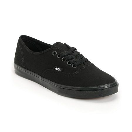 Vans Women's Authentic Lo Pro All Black Shoe