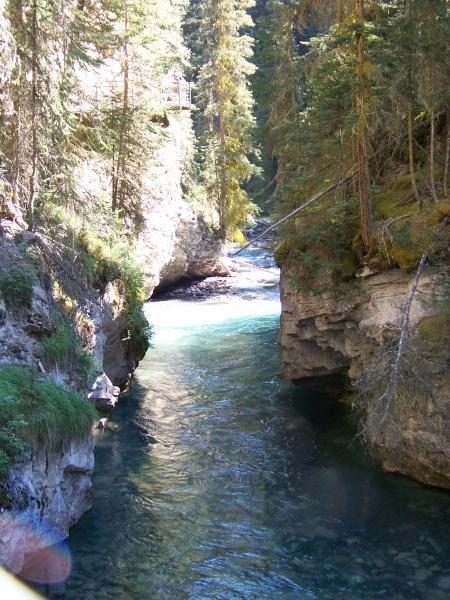 Johnston Canyon Alberta