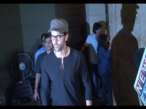 Hrithik Roshan at the special screening of the movie BIRDMAN.