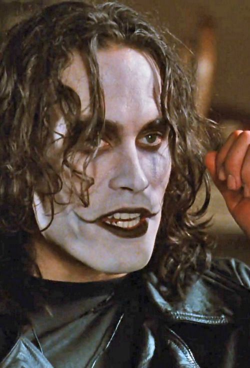 Brandon Lee as Erik Draven as The Crow