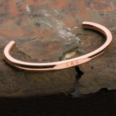 monogram cuff: Handmade Engravable, Style Inspiration, Engravable Wristwire, Copper Wristwire, Copper Bracelet, Wristwire Bracelet, Copper Engravable, Leather Bracelets