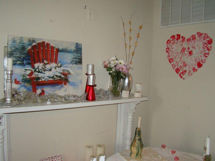 Valentines 2015 Mantle: