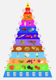 De voedingspiramide - Nederlanders eten behoorlijk ongezond. Uit voedselconsumptiepeilingen blijkt dat: bijna niemand voldoende groenten en fruit eet (slechts 2% eet voldoende groenten); we teveel zout binnen krijgen; 90% teveel verzadigd vet eet;   slechts 5 - 10% voldoende vezels binnen krijgt.  Er is dus veel gezondheidswinst te behalen!