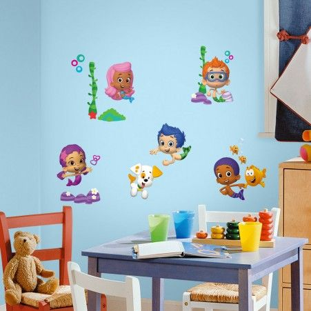 Bubble Guppies Peel   Stick Decals by Bubble Guppies. 144 best Roommates Peel   Stick Wall Decals images on Pinterest