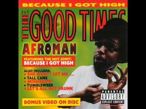 Crazy Rap (Colt 45 & 2 Zig Zags) - Afroman [ The Good Times ]